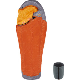 The North Face Lynx Sleeping Bag regular, hawaiian sunset orange/zinc grey